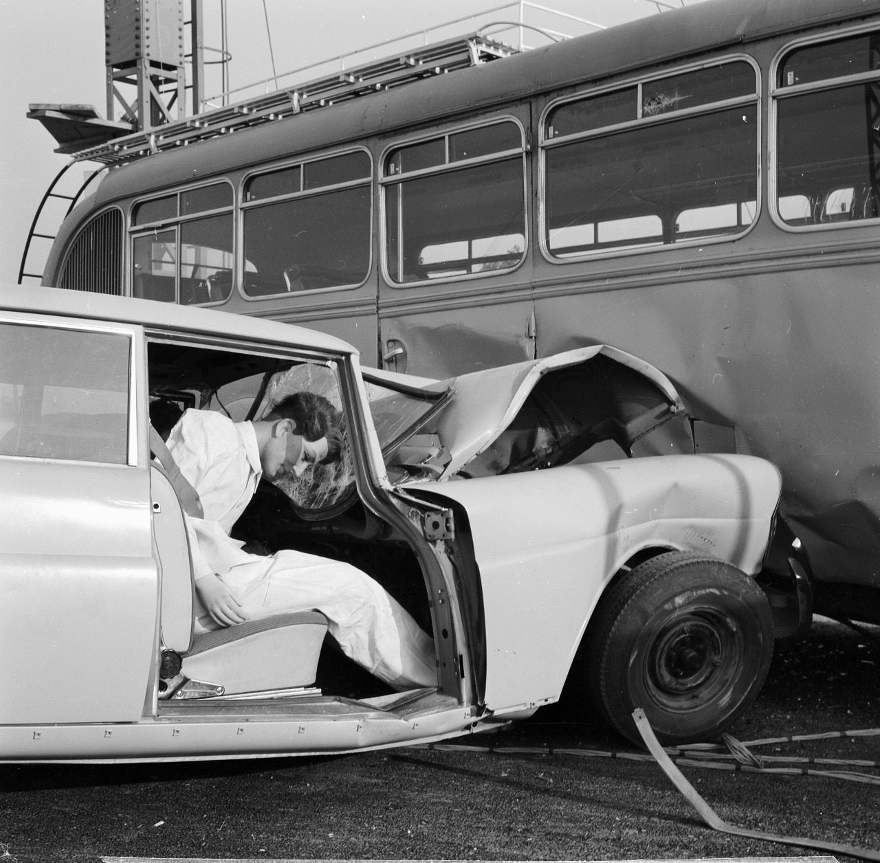 Crash Test in early days