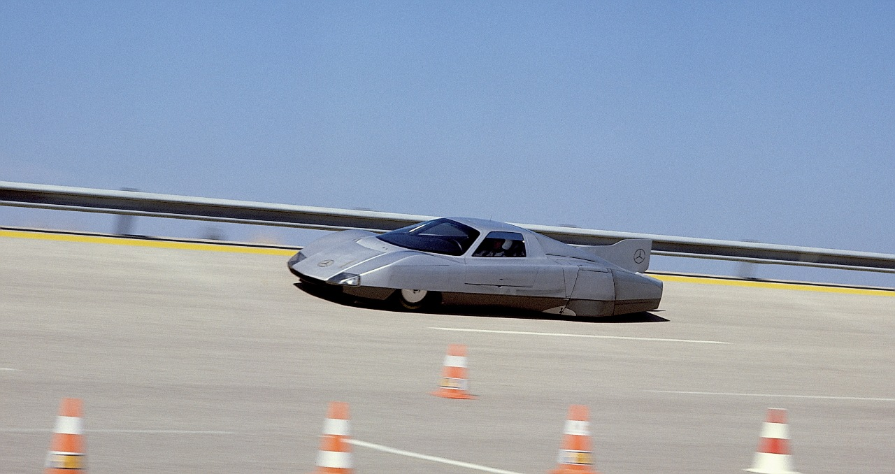 Mercedes-Benz C 111-III record-breaking car, 1978