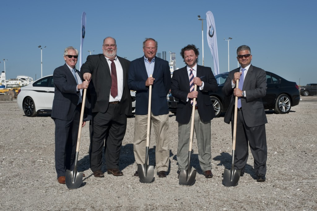 BMW Groundbreaking at Port of Galveston