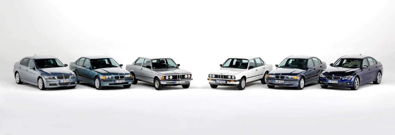 BMW 3 series models