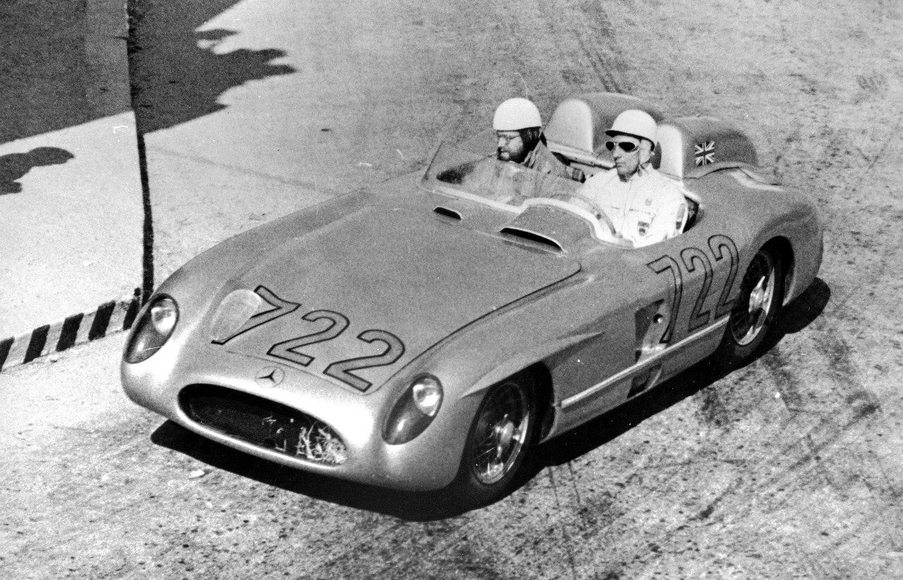 Stirling Moss and Denis Jenkinson
